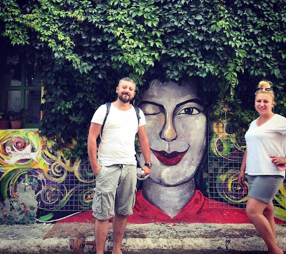 bozcaada sokak resimleri