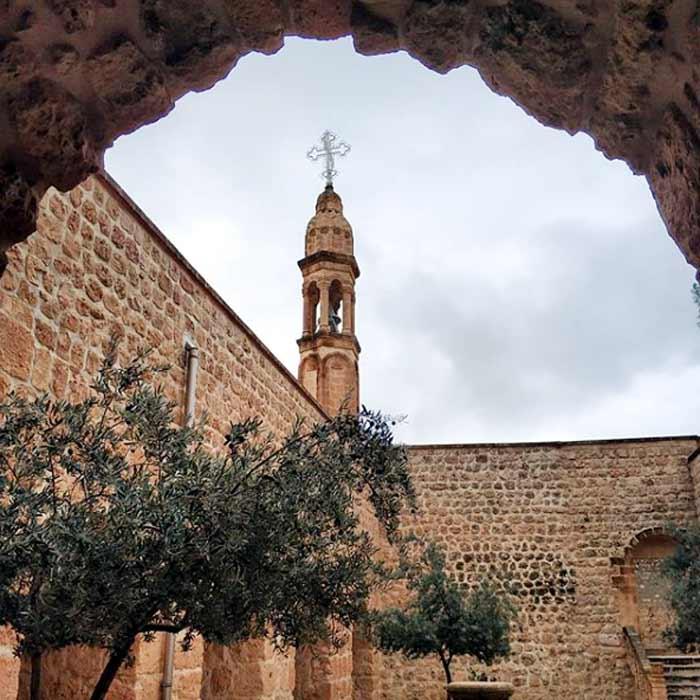 Mor-Gabriel-Manastırı-Midyat Mardin