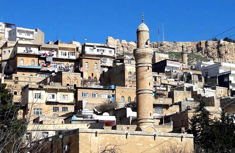 Mardin gezilecek yerler Eski Mardin sokakları