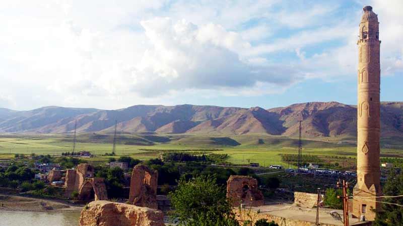 hasankeyf-minaresi, hasankeyf gezilecek yerler