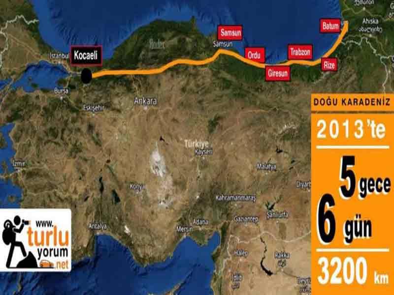 Karadeniz Doğası ve Kültürüyle araba turu