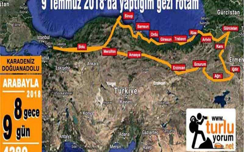 Karadeniz Doğuanadolu Turu