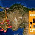 Arabayla Ege Akdeniz Turu rotası ve tavsiyesi