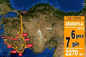 Arabayla Ege Akdeniz Turu