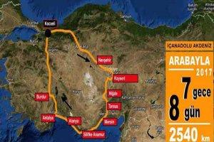 Araba ile Türkiye Turu