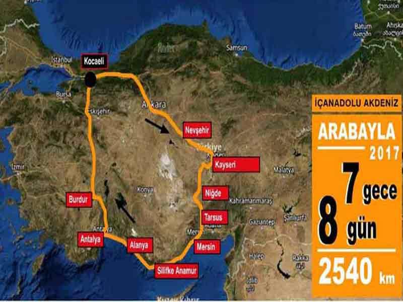 İç Anadolu Akdeniz Turu