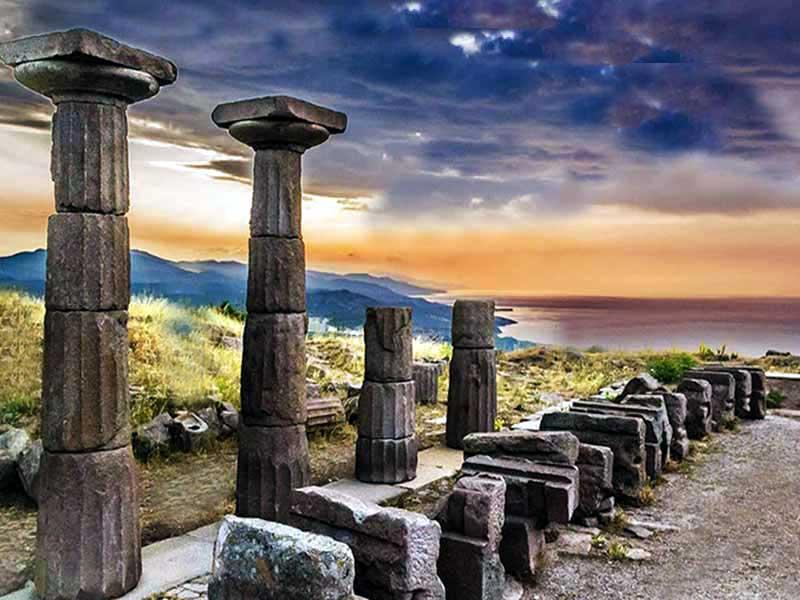 assos antik kenti ile ilgili görsel sonucu