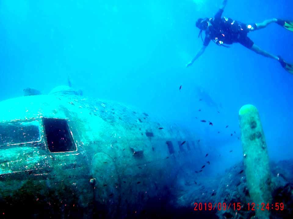 Kaş batık uçak dalışı Türkiye'de yapılan doğa sporları