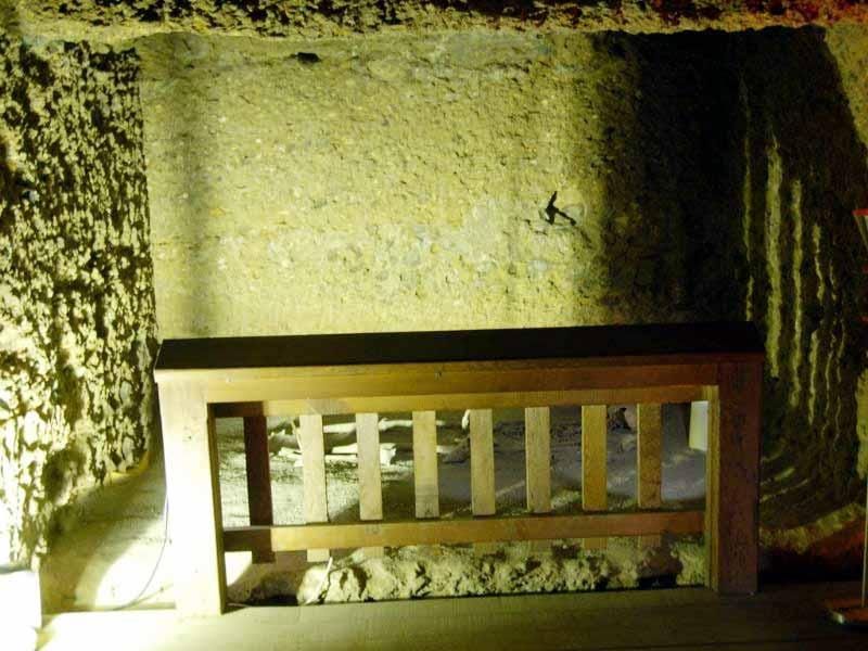 kral mezar iç görüntüsü