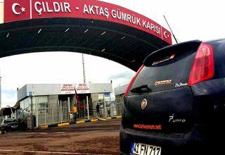 Araba ile Batum Gürcistan Geçiş İşlemleri 2020 giriş ücreti