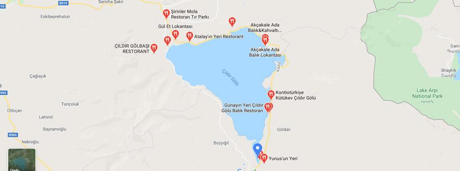 çıldır gölü lokantaları