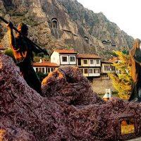 Amasya gezilecek yerler listesi ve Ferhat ile Şirin