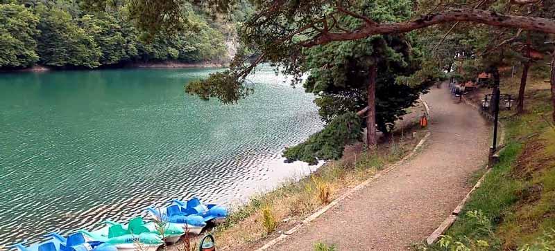 borabay gölü nerede