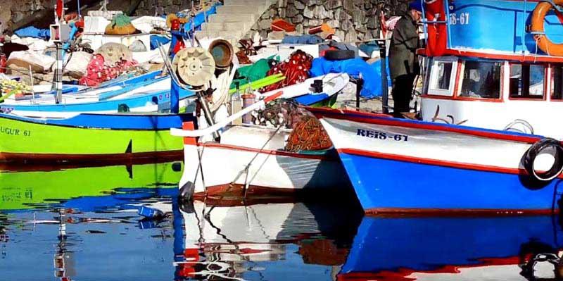 Akçaabat gezilecek yerler balıkçı limanı