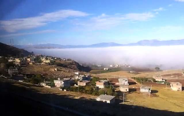 amik ovası üzeri bulutlar
