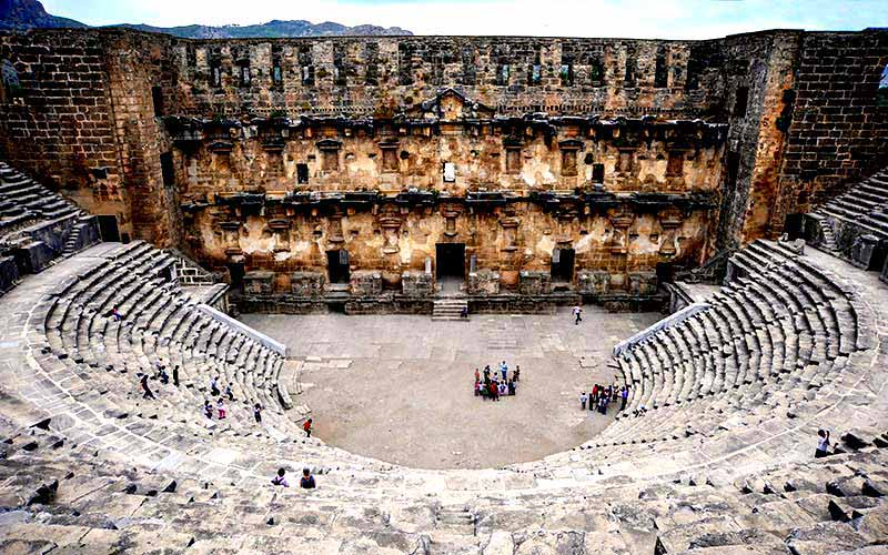 Aspendos-Antik tiyatro antalya