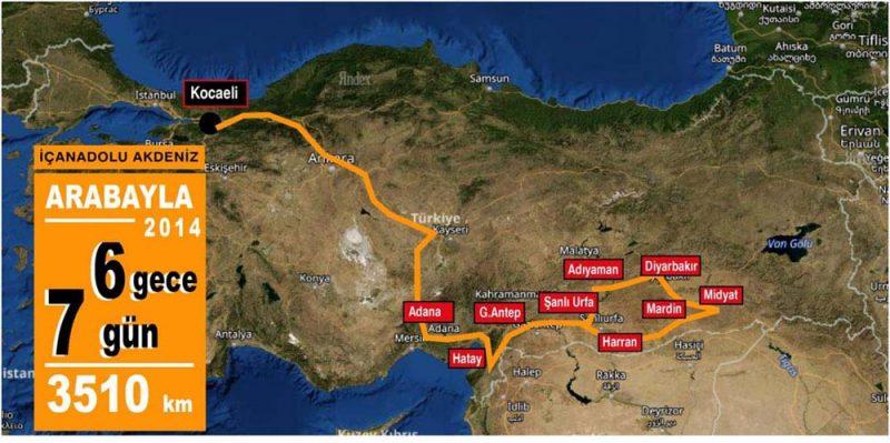 Güneydoğu İç Anadolu turu 2014
