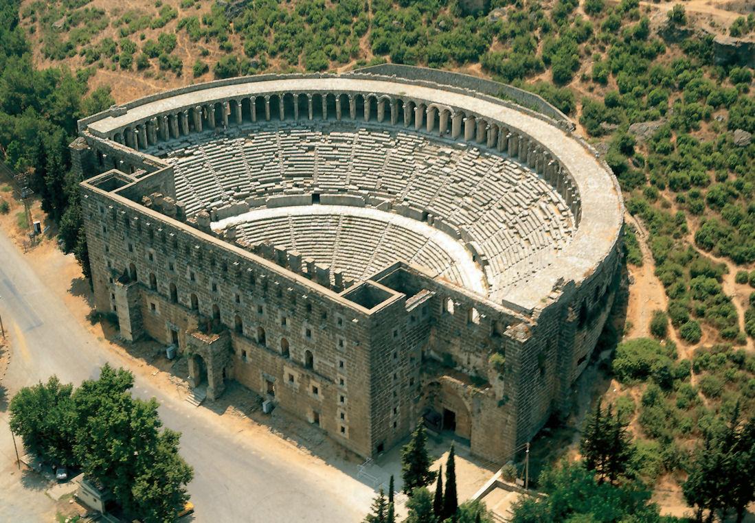aspendos antik kent