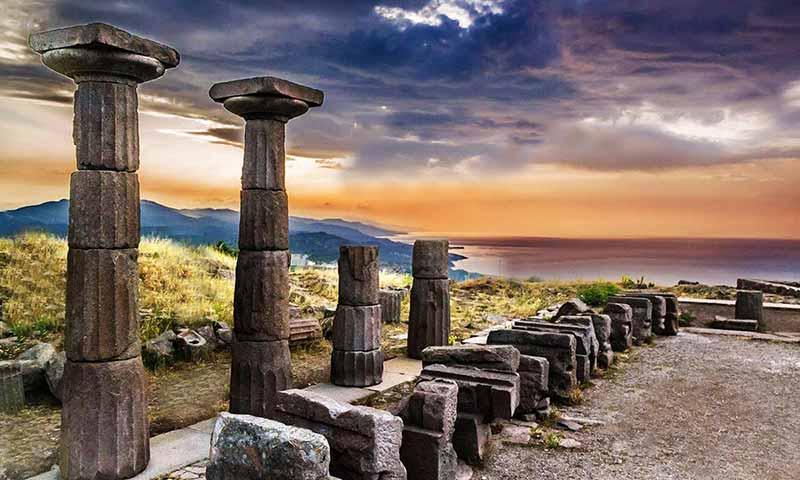 assos-antik-kent-çanakkale-tarihi