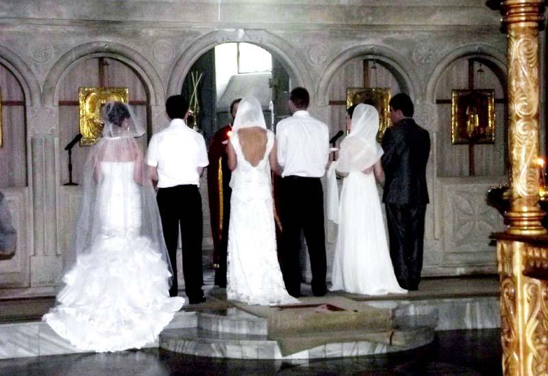 batum kilise düğün töreni