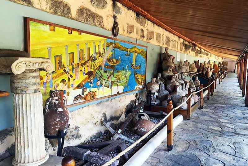 bodrum-sualtı-müzesi- bodrum gezilecek yerler