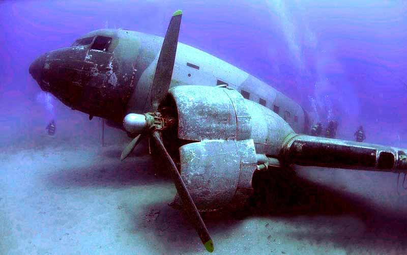 kaş-batık-uçak-dalışı