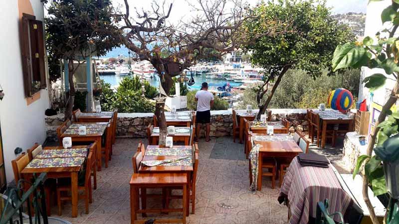 kaş gezilecek yerler haritası restoranlar