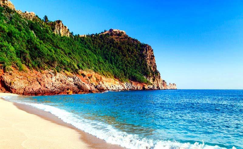 keopatra plajı alanya