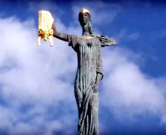 medea heykeli batum gürcistan