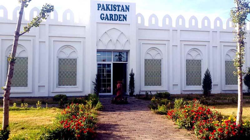 pakistan bahçesi expo antalya
