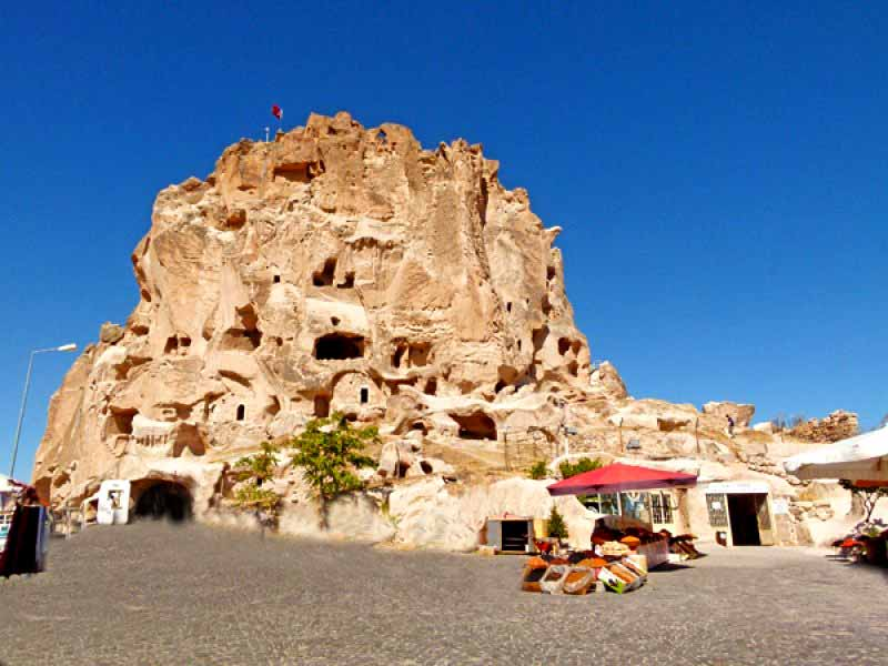 Uçhisar Kalesi Kapadokya