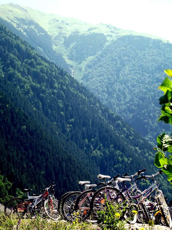 uzungölde eşsiz doğa ve göl çevresinde kiralık bisikletler