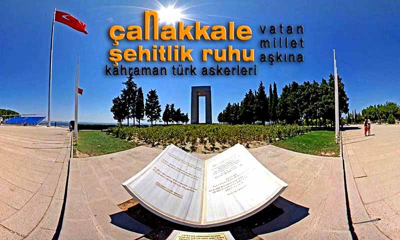 çanakkael-şehitlik anıtı