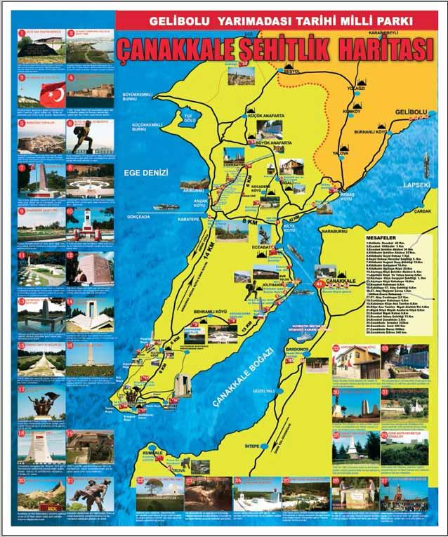 çanakkale-şehitlik-haritası