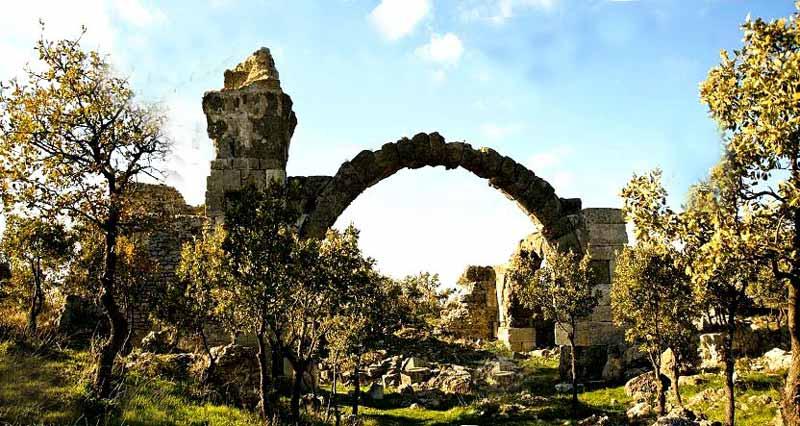 geyikli gezilecek yerler-antik-kent