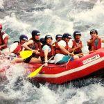 Türkiye'de yapılan doğa sporları – rafting, dalış, paraşüt