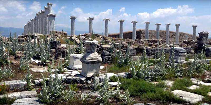 Hierapolus antek kenti pamukkale