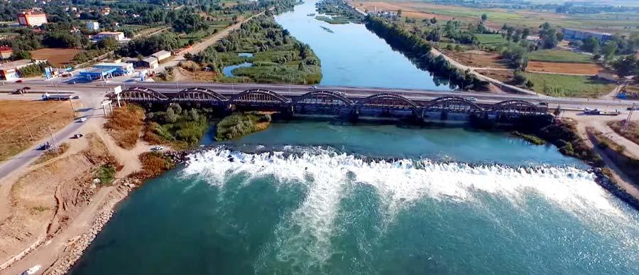 bafra gezilecek yerler çetinkaya köprüsü