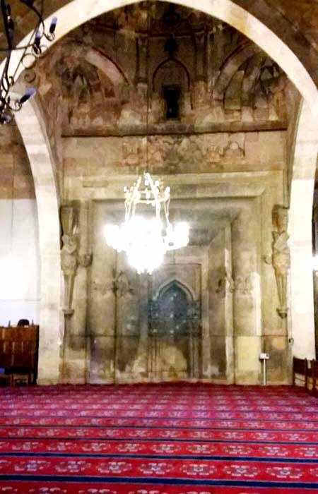 divriği ulu cami tarihi iç kısmı