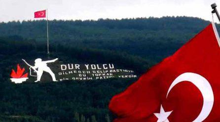Dur Yolcu Anıtı Çanakkale