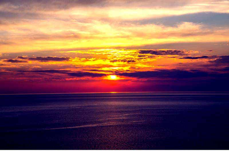 günbatımı-gökçeada