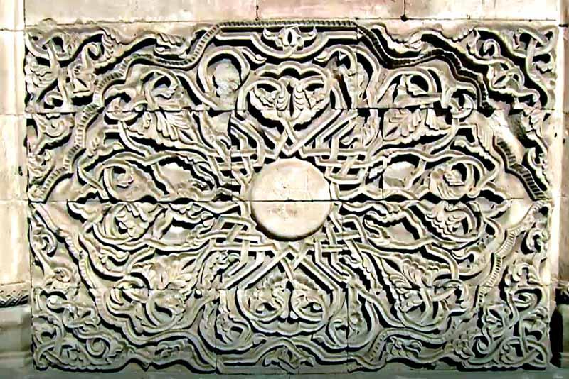 güneş-taş-oyma-İshak Paşa Sarayı Nerede