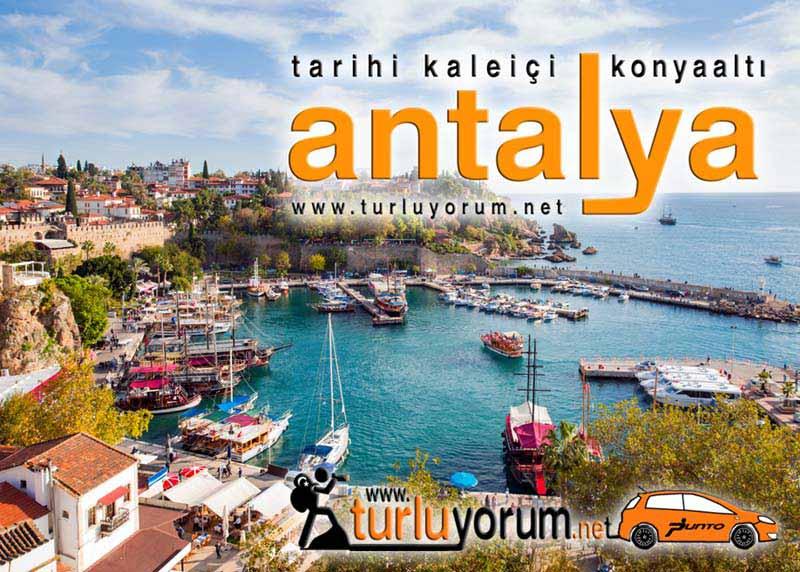 Antalya Kaleiçi ve Konyaaltı gezi rehberi