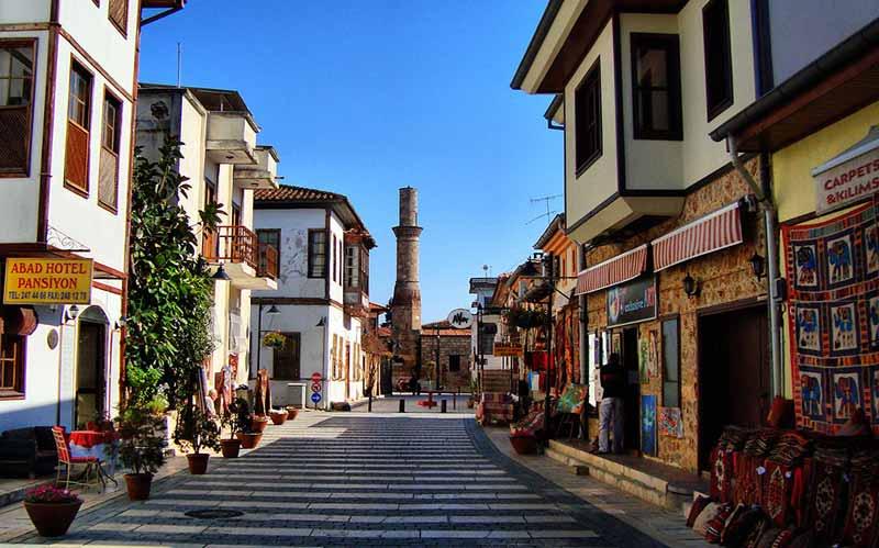 Antalya kaleiçi ve konyaaltı