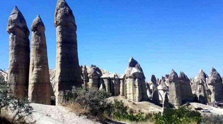 Kapadokya Gezilecek Yerler Nevşehir