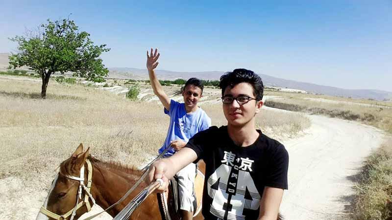 kapadokya-at-gezisi nevşehir kapadokya gezilecek yerler