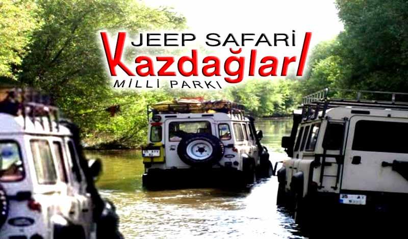 kazdağları-jip safari turu