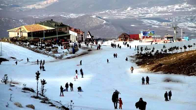 ladik-kayak-merkezi samsun gezilecek yerler