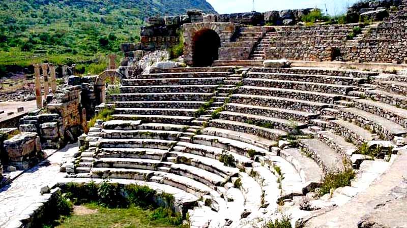 odeon-tiyatro-efes antik kent