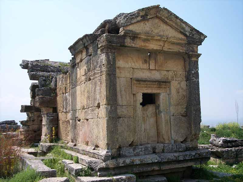 pamukkale-mezar-tarihi